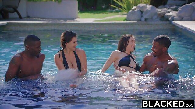 7on1 bokep colmek sampe crot interracial orgy dengan DP untuk Natalie Cherie